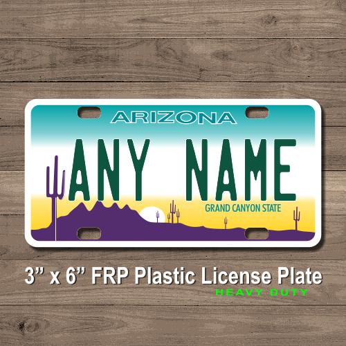 License plate availability az