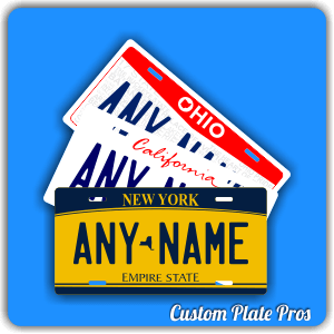 State Plate Designs
